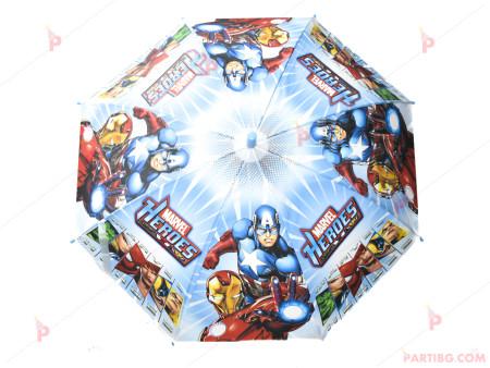 Чадър детски с декор Отмъстителите
