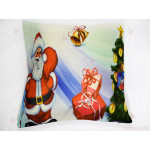 Възглавница с декор ДядоКоледа | PARTIBG.COM